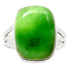 Chrysoprase 925 Sterling Silver Ring Jewelry s.9 9431R