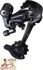 SHIMANO DEORE M591-SGS 9-SPEED LONG CAGE BLACK MTB REAR DERAILLEUR-NO PACKAGE