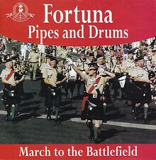 FORTUNA Pipes and Drums / March To The Battlefield CD
