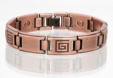 NEW COPPER MAGNETIC LINK BRACELET mens womens STYLE#LG  jewelry health Energy