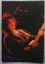 Carte postale THE CURE en concert postcard