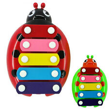 5 Note Xylophone Musical Toy Development Toys Beetle For Baby Children Girls Boy