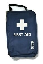 Sport Sports First Aid Kit Football, Rugby, Netball, Blue Bag INCLUDES ICE PACK