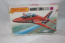 Red Arrows Hawk T. Mk1 - Matchbox 1981 Unmade 1/72 Scale Kit - PK-27