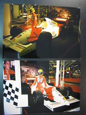 Photo Marlboro McLaren MP4/7 1992 Ayrton Senna (BRA) 2 photos