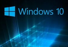 Windows 10 ( Home - Pro )  ( 32/ 64 bit) install/update DVD W/HD