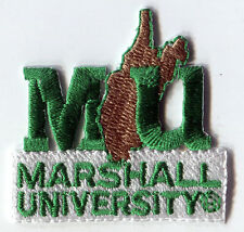 "1989-2000 MARSHALL UNIVERSITY THUNDERING HERD NCAA COLLEGE 1.75"" LOGO PATCH"