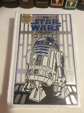 The Star Wars Trilogy - 3 books in 1 - leatherbound - White R2-D2 Cover - sealed
