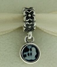 Authentic Pandora 790500CAM02 Cameo Aquarius Zodiac Sterling Silver Bead Charm