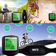 Contachilometri wireless BICI MTB WIRELESS WATERPROOF FASCIA CARDIO SENZA FILI