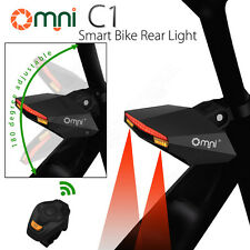 Omni C1 Smart Bicycle Light Wireless Remote Flashlight For Bike Outdoor Sport