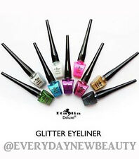 Italia Deluxe Glitter Liquid Eyeliner 9 Colors Full Set*Glitter Eyeliner*US SELL
