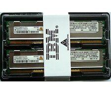 Nuevo IBM 2GB PC2-5300 240 Pin ECC RAM Servidor DDR2, 2X1GB
