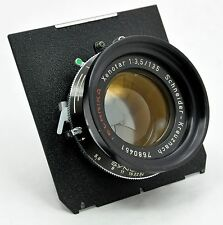 Linhof Technika Xenotar 135mm f3.5 Lens, Compur Shutter, Excellent Condition!