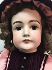 "Antique 28"" Kestner Hilda Baby German Bisque Doll Germany 15 1/2 RARE"