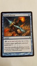 1x MENTAL MISSTEP - Rare - New Phyrexia - MTG  NM - Magic the Gathering