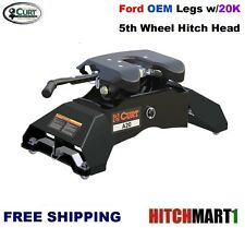 20K CURT 5TH WHEEL TRAILER HITCH & OEM COMPATIBLE LEG FOR FORD w/ TOW PREP 16034