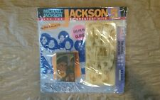 1984 Motown Records Michael Jackson 5 Greatest Hits Cassette Glove Set New