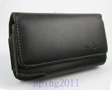 genuine real Leather Belt Clip Carrying Case Holster for apple iphone 5 5S 5C