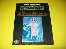 THE SEVEN SISTERS DUNGEONS & DRAGONS AD&D 2ND EDITION FORGOTTEN REALMS TSR 9475