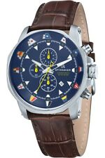 Beautiful Spinnaker (Flag) Flaggy chronograph watch.
