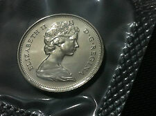 CANADA COIN- 25 CENTS 1976 - UNCIRCULATED COIN !