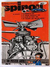 C)SPIROU N°1646  Avec le mini récit/ N° Automobile/ Sans le poster