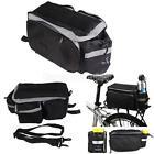 Bicycle Bike Pannier Rear Seat Bag Rack Trunk Shoulder Handbag Water Resistant