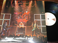 "ACCEPT - Restless And Wild, LP 12"" SPAIN 1987"