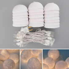 Aladin 3M 20 Creative Cotton BALL String Light For Xmas Wedding Feast Banquet