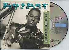 LUTHER VANDROSS - Love the one you're with CD SINGLE 2TR CARDSLEEVE 1994