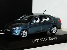 CITROEN C-ELYSEE 2012 SHARK GREY NOREV 155175 1:43