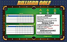 POOL BILLIARDS TABLE GOLF GAME!  JUST ADD BALLS & PLAY