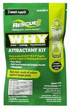 1 Package of Rescue WHYTR BB8 Wasp Hornet Yellow Jacket   Why Trap Attractant