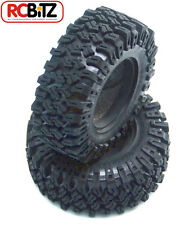 Rock Creepers 1.9 Scale Tires scale tyre Flat Tread area fit D90 Mojave TF2