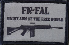 FN FAL Olive Drab Morale Patch Tactical 308 NATO Right Arm of the Free World