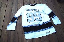 Los Angeles Kings Wayne Gretzky Adult Size 52 Captain/Stanley Cup jersey by CCM