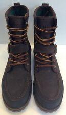 Polo Ralph Lauren Woolton Brown Suede Leather Boot Men's 12 D $169 NIB New