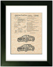 United States Patent Office Print Chrysler Crossfire Roadster 2004 Art
