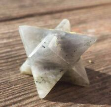 NATURAL LABRADORITE GEMSTONE MERKABA STAR (ONE) - BUY IT NOW