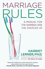 NEW HC Marriage Rules A Manual for the Married. . . Harriet Lerner FREE SHIPPING