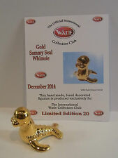 WADE WHIMSIE RARE GOLD SAMMY SEAL LE 20