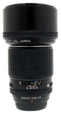 Pentax SMC K 200mm F2.5 Lens. Filter