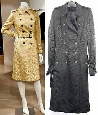 "$7,250 Burberry Prorsum 8 (~36"" Bust) LIMITED Regent Street Lace Trench Coat NWT"