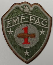 USMC Marine FMF-PAC 1st EOD (Explosive Ordnance Disposal) Company Subdued Patch