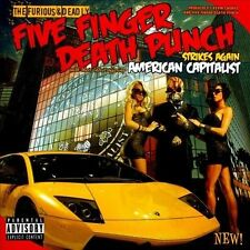 American Capitalist [PA] by Five Finger Death Punch (CD, Oct-2011, Prospect Park