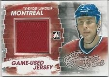 Trevor Linden 2012-13 ITG In The Game Forever Rivals Game-Used Jerseys Card #M41