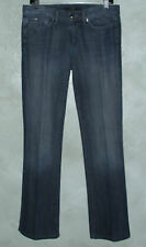 JOE'S JEANS ROCKER JEANS Gunmetal Crystal Accents Straight Legs 29