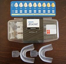3x NITE WHITE ACP WHITENING GELS + 2x MOUTH TEETH TRAYS + SHADE CARD