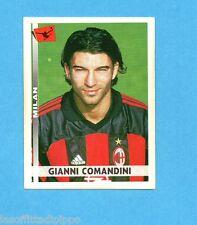 PANINI CALCIATORI 2000/2001- Figurina n.236- COMANDINI - MILAN -NEW